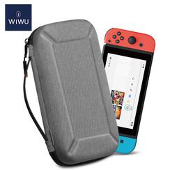 WIWU - Nintendo Switch Case - Nintendo Switch Accessoires - Nintendo Switch Beschermhoes en Standaard - Grijs