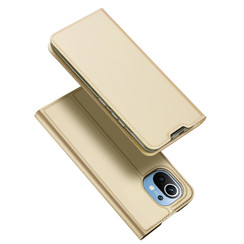 Xiaomi Mi 11 Lite hoesje - Dux Ducis Skin Pro Book Case - Goud