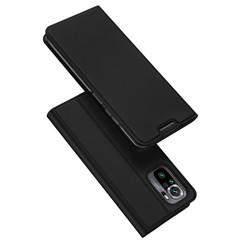 Xiaomi Redmi Note 10 hoesje - Dux Ducis Skin Pro Book Case - Zwart
