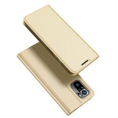 Xiaomi Redmi Note 10 hoesje - Dux Ducis Skin Pro Book Case - Goud