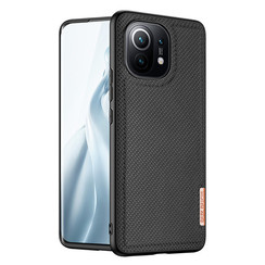 Dux Ducis - Xiaomi Mi 11 hoesje - Fino Series - Back Cover - Zwart