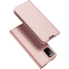 Samsung Galaxy A02s Hoesje - Dux Ducis Skin Pro Book Case - Rose Goud