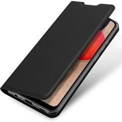 Samsung Galaxy A02s Hoesje - Dux Ducis Skin Pro Book Case - Donker Blauw