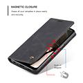 CaseMe CaseMe - Samsung Galaxy A12 Hoesje - Wallet Book Case - Magneetsluiting - Zwart