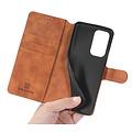 CaseMe CaseMe - OnePlus 9 Pro Hoesje - Met Magnetische Sluiting - Ming Serie - Leren Book Case - Licht Bruin