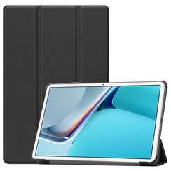 Huawei MatePad 11 Inch (2021) Hoes - Tri-Fold Book Case - Zwart