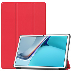 Huawei MatePad 11 Inch (2021) Hoes - Tri-Fold Book Case - Rood