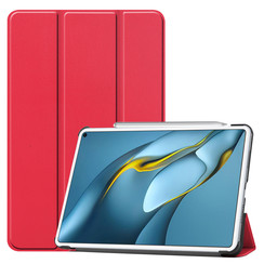 Huawei MatePad Pro 10.8 (2021) Hoes - Tri-Fold Book Case - Rood