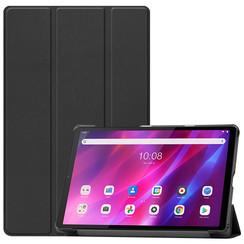 Lenovo Tab K10 (10.3 Inch) Hoes - Tri-Fold Book Case - Zwart