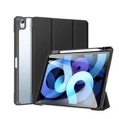 Apple iPad Air 10.9 Hoes - Dux Ducis Toby Tri-Fold Book Case - Zwart