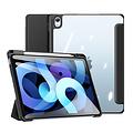 Dux Ducis Apple iPad Air 10.9 Hoes - Dux Ducis Toby Tri-Fold Book Case - Zwart