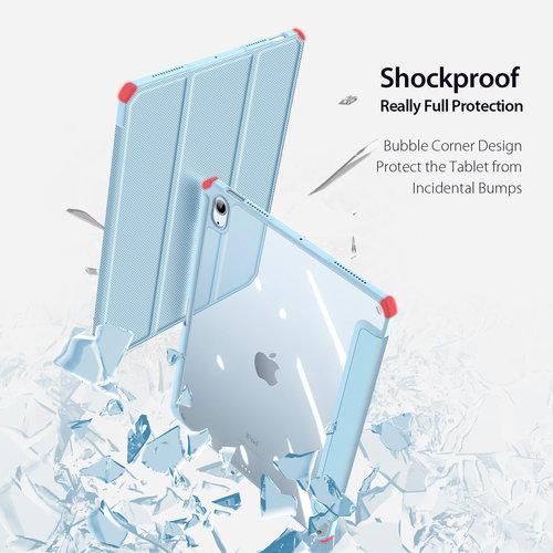 Dux Ducis Apple iPad Air 10.9 Hoes - Dux Ducis Toby Tri-Fold Book Case - Blauw
