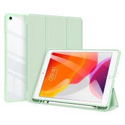 Apple iPad 10.2 2019/2020 Hoes - Dux Ducis Toby Tri-Fold Book Case - Groen
