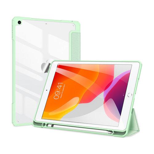 Dux Ducis Apple iPad 10.2 2019/2020 Hoes - Dux Ducis Toby Tri-Fold Book Case - Groen