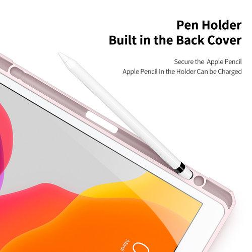 Dux Ducis Apple iPad 10.2 2019/2020 Hoes - Dux Ducis Toby Tri-Fold Book Case - Roze