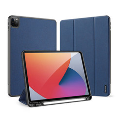 iPad Pro 2021 (11 Inch) Hoes - Dux Ducis Domo Book Case - Donker Blauw