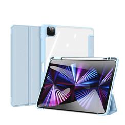 Apple iPad Pro 2021 (11 inch) Hoes - Dux Ducis Toby Tri-Fold Book Case - Blauw