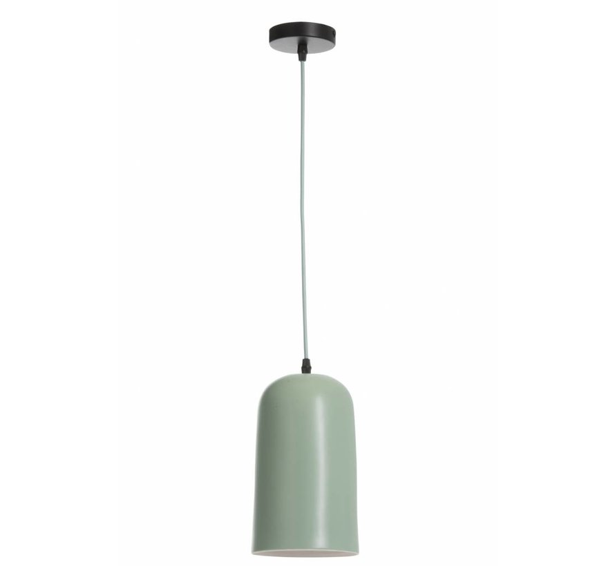 Pendant light Porcelain Conical - Light Green