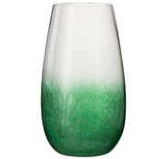 J -Line Windlicht Glas Bol High green - Large