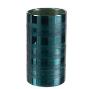 J -Line Windlight Glass Cylinder High Blue - XL