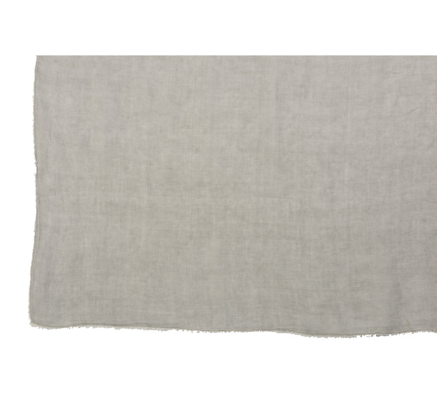 Plaid Linen Washed - Green