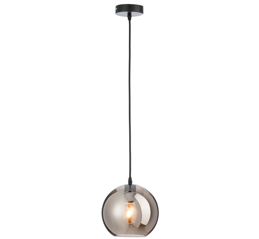 Hanging lamp Glass Ball Modern Silver - Small