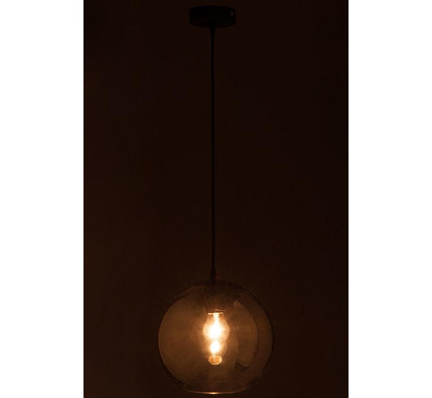 Hanging lamp Glass Ball Modern Silver - Medium