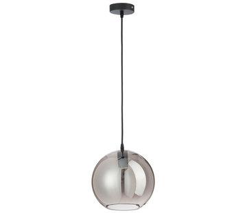 J-Line Hanging lamp Glass Ball Modern Silver - Medium