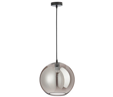 J -Line Hanging lamp Glass Ball Modern Silver - Large