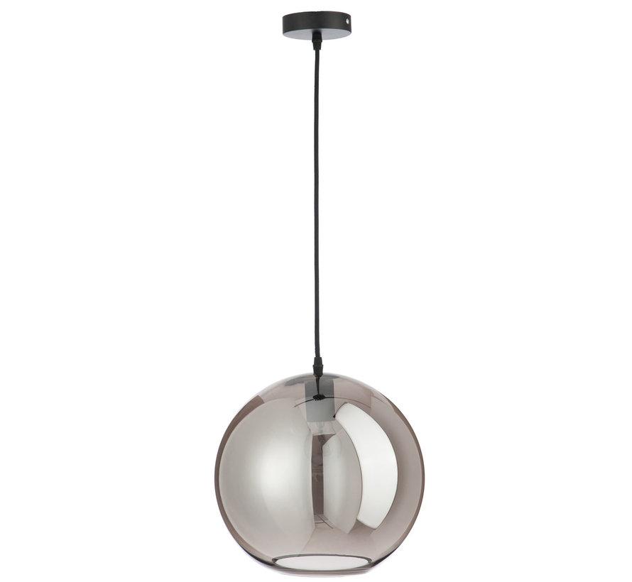 Hanging lamp Glass Ball Modern Silver - Large