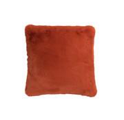 J-Line Kussen Polyester Vierkant Extra Zacht - Orange