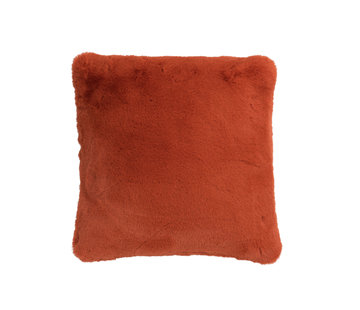 J-Line Cushion Polyester Square Extra Soft - Orange