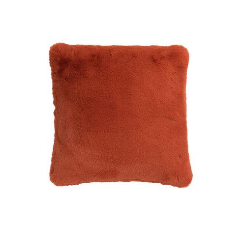 J -Line Cushion Polyester Square Extra Soft - Orange