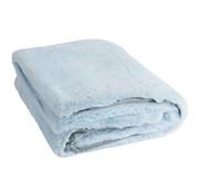J -Line Plaid Polyester Extra Zacht - Lichtblauw