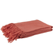 J -Line Plaid Cotton Crochet Tassels - Pink