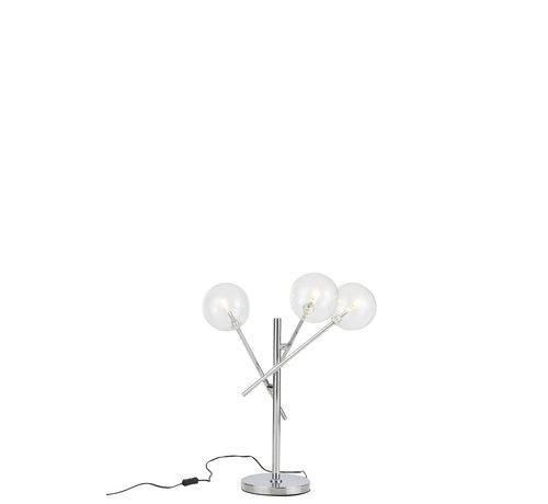 J -Line Table lamp Modern Sleek Aluminum - Silver