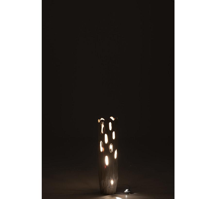 Table lamp Rural Stam Paulownia - White
