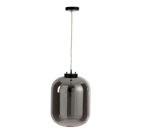 J -Line Hanglamp Modern Spiegelglas - Zilver