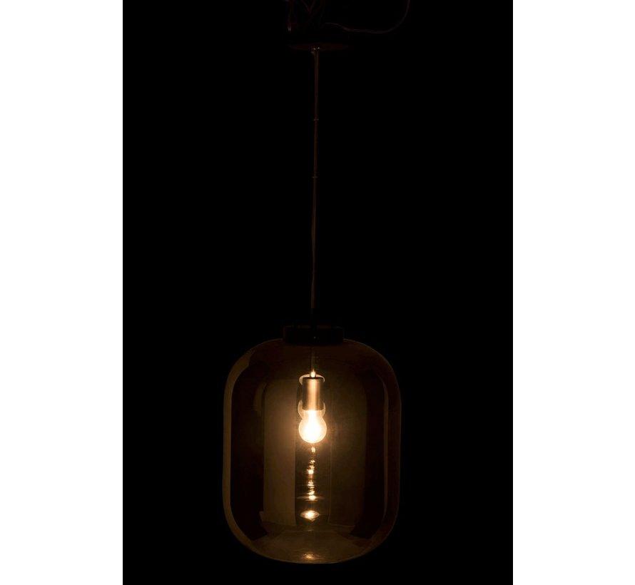 Hanglamp Modern Spiegelglas - Zilver