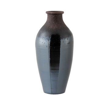 J -Line Bottles Vase Ceramic Bright Brown - Large