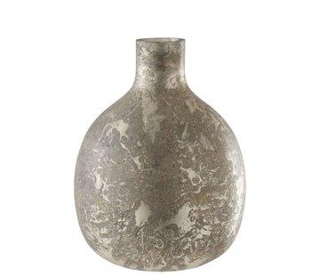 J -Line Bottles Vase Glass Light Gray - Large