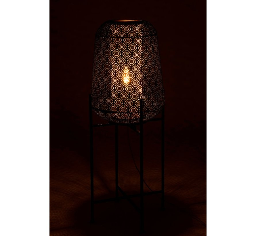 Floor Lamp Oriental Black - Large