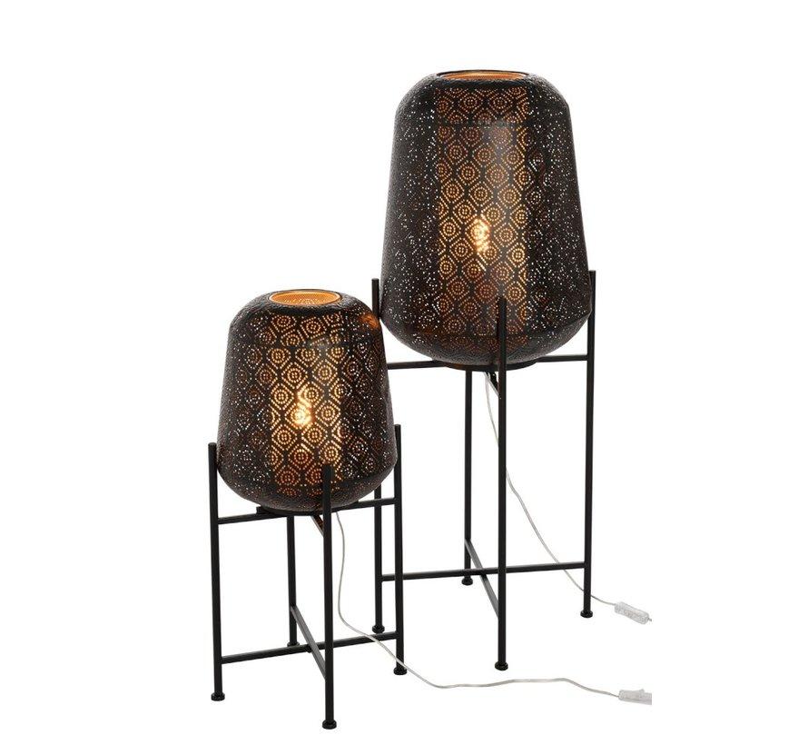 Staande Lamp Oosters  Zwart - Large