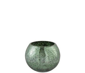 J-Line Tealight holder Bulb Glass Green - Medium