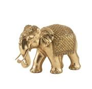 J -Line Decoration Sculpture Elephant Mirror Gold - Large