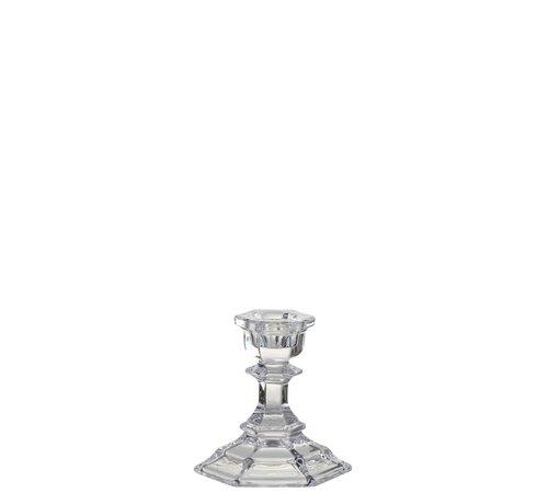J -Line Candlestick Glass Classic Transparent - Small