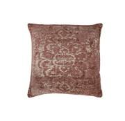 J -Line Cushion Cotton Square Faded Print - Pink