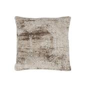 J -Line Cushion Cotton Square Blurred Print Beige - White