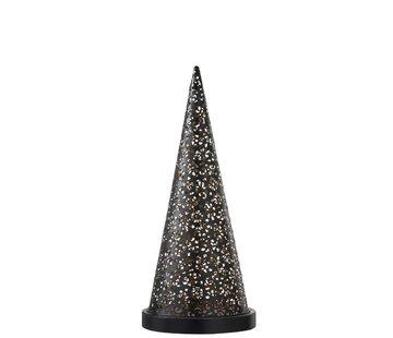 J -Line Table lamp Led Cone Battery Metal Black - Medium