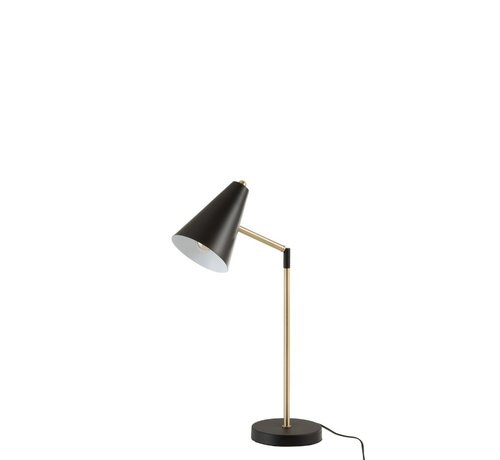 J -Line Table lamp Metal Touch Gold - Black